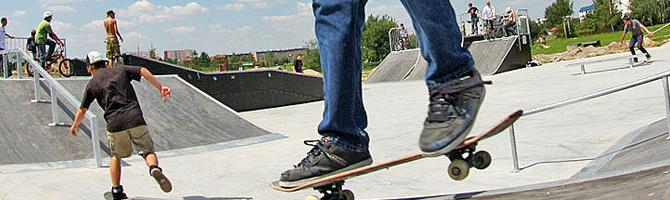 Skatepargi väljakud